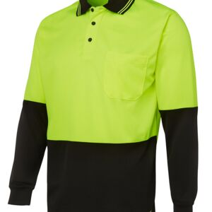 HI VIS LONG SLEEVE TRADITIONAL POLO Thumbnail