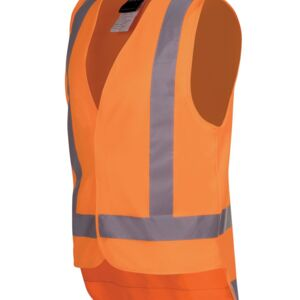 HI VIS (D+N) TTMC-W VEST (road safety with velcro) Thumbnail