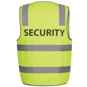 HI VIS D+N SAFETY VEST SECURITY Thumbnail