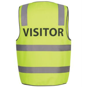 HI VIS D+N SAFETY VEST VISITOR Thumbnail
