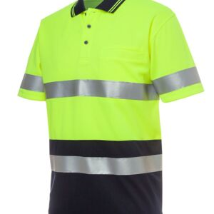 HI VIS S/S (D+N) TRADITIONAL POLO Thumbnail