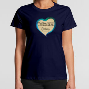 Womens Seaweek 2019 t-shirt dark colours Thumbnail