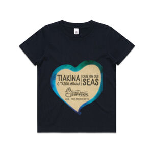 Kids Seaweek 2019 t-shirt dark colours (age 2-6) Thumbnail