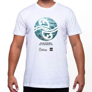 Seaweek 2020 T-Shirt Mens - White Thumbnail