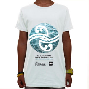 Seaweek 2020 T-Shirt Youth - White Thumbnail